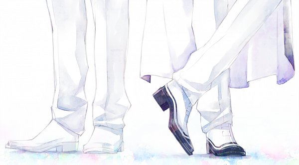 Tags: Anime, Saki Kunkatan, Bishoujo Senshi Sailor Moon, Saphir (BSSM), Prince Diamond, Crossed Legs (Standing), Legs, Facebook Cover, Fanart, Fanart From Pixiv, Pixiv, Black Moon Clan, Pretty Guardian Sailor Moon