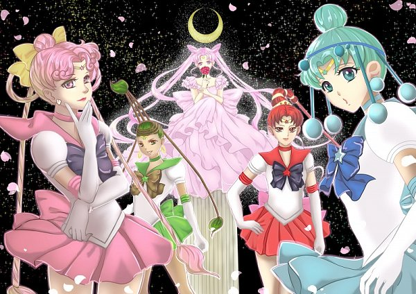 Tags: Anime, Pixiv Id 3071180, Bishoujo Senshi Sailor Moon, Sailor Vesta, Princess Usagi Small Lady Serenity, Ves Ves, Chibiusa, Sailor Juno, Jun Jun, Sailor Pallas, Cere Cere, Sailor Ceres, Palla Palla, Pretty Guardian Sailor Moon
