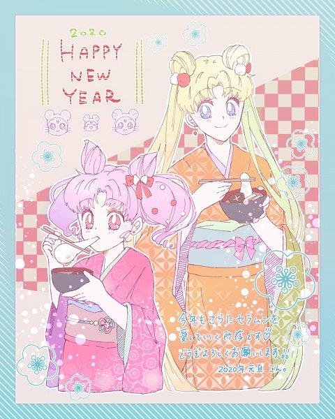 Tags: Anime, Pixiv Id 25778309, Bishoujo Senshi Sailor Moon, Luna (Sailor Moon), Chibiusa, Tsukino Usagi, Diana (Sailor Moon), Artemis (Sailor Moon), Fanart From Pixiv, Pixiv, Happy 2020, Fanart, Pretty Guardian Sailor Moon