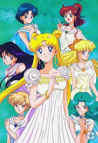 Tags: Anime, Tadano Kazuko, Bishoujo Senshi Sailor Moon, Hino Rei, Kaiou Michiru, Tenou Haruka, Kino Makoto, Mizuno Ami, Aino Minako, Princess Serenity, Tsukino Usagi, Pretty Guardian Sailor Moon