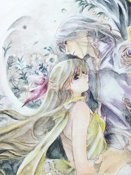 Tags: Anime, Bishoujo Senshi Sailor Moon, Aino Minako, Princess Venus, Kunzite, Traditional Media, Pretty Guardian Sailor Moon