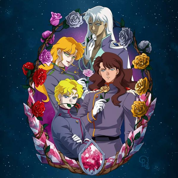 Tags: Anime, Drachea Rannak, Bishoujo Senshi Sailor Moon, Kunzite, Jadeite, Zoisite, Nephrite, Pretty Guardian Sailor Moon