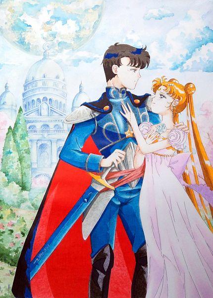 Tags: Anime, Libra (Artist), Bishoujo Senshi Sailor Moon, Princess Serenity, Tsukino Usagi, Chiba Mamoru, Prince Endymion, Fanart, Pretty Guardian Sailor Moon
