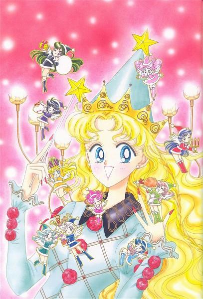 Tags: Anime, Takeuchi Naoko, Bishoujo Senshi Sailor Moon, Tsukino Usagi, Mizuno Ami, Kaiou Michiru, Chibi Chibi, Kino Makoto, Chibiusa, Aino Minako, Hino Rei, Tomoe Hotaru, Tenou Haruka, Pretty Guardian Sailor Moon
