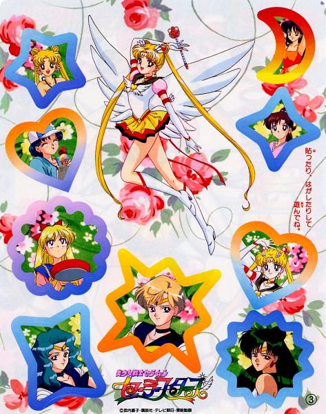 Tags: Anime, Tadano Kazuko, Bishoujo Senshi Sailor Moon, Sailor Neptune, Kino Makoto, Hino Rei, Sailor Uranus, Aino Minako, Tenou Haruka, Tsukino Usagi, Mizuno Ami, Meiou Setsuna, Sailor Pluto, Pretty Guardian Sailor Moon