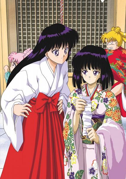 Tags: Anime, Ryutaro Hino, Bishoujo Senshi Sailor Moon, Tsukino Usagi, Tomoe Hotaru, Hino Rei, Chibiusa, Mobile Wallpaper, Fanart, Pretty Guardian Sailor Moon