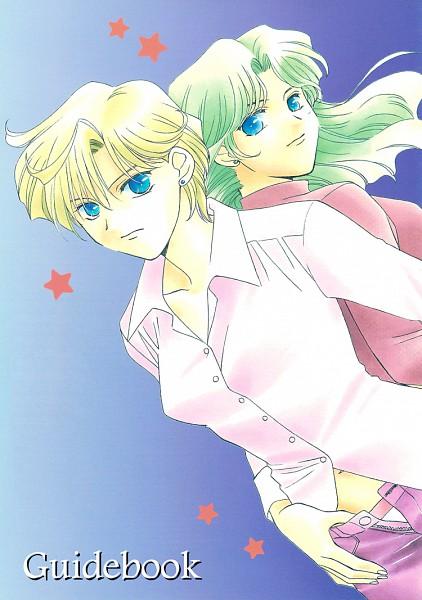 Tags: Anime, Hayashiya Shizuru, Bishoujo Senshi Sailor Moon, Tenou Haruka, Kaiou Michiru, Fanart, Pretty Guardian Sailor Moon