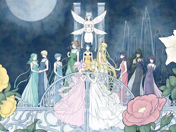 Tags: Anime, Pixiv Id 107514, Bishoujo Senshi Sailor Moon, Mizuno Ami, Tomoe Hotaru, Chiba Mamoru, Princess Pluto, Meiou Setsuna, Princess Serenity, Princess Jupiter, Princess Usagi Small Lady Serenity, Princess Uranus, Kaiou Michiru, Pretty Guardian Sailor Moon