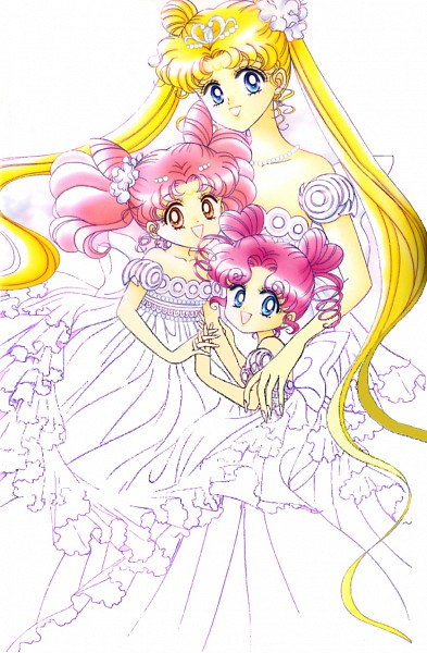 Tags: Anime, Takeuchi Naoko, Bishoujo Senshi Sailor Moon, Neo-Queen Serenity, Chibiusa, Tsukino Usagi, Princess Usagi Small Lady Serenity, Chibi Chibi, Serenity Crystal Tiara, Official Art, Mobile Wallpaper, Pretty Guardian Sailor Moon