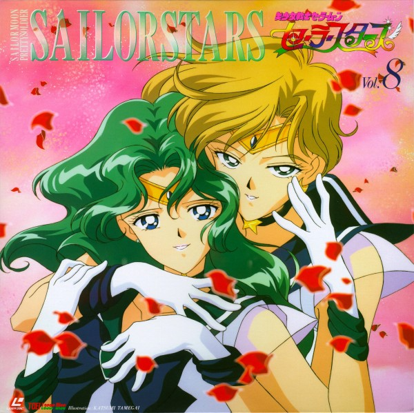 Tags: Anime, Tamegai Katsumi, Tadano Kazuko, Bishoujo Senshi Sailor Moon, Sailor Neptune, Sailor Uranus, Kaiou Michiru, Tenou Haruka, Pretty Guardian Sailor Moon