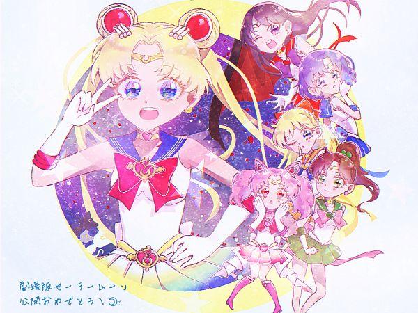 Tags: Anime, Pixiv Id 54960926, Bishoujo Senshi Sailor Moon, Bishoujo Senshi Sailor Moon Eternal, Mizuno Ami, Aino Minako, Sailor Venus, Diana (Sailor Moon), Sailor Jupiter, Sailor Chibi Moon, Artemis (Sailor Moon), Luna (Sailor Moon), Chibiusa