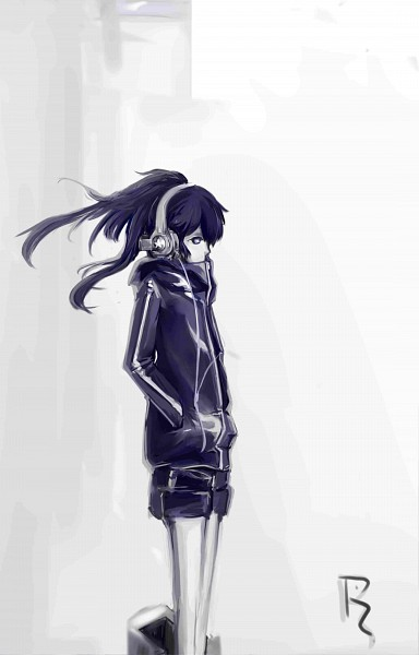Tags: Anime, Black★Rock Shooter, Black★Rock Shooter (Character), Fanart, Mobile Wallpaper