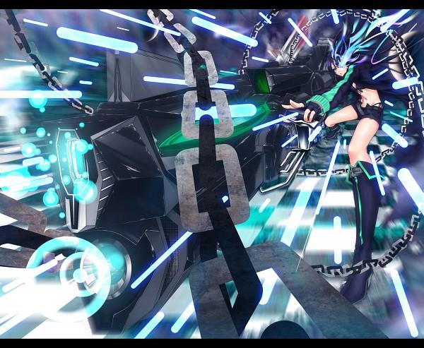 Tags: Anime, Zucchini, Black★Rock Shooter, Black★Rock Shooter (Character)