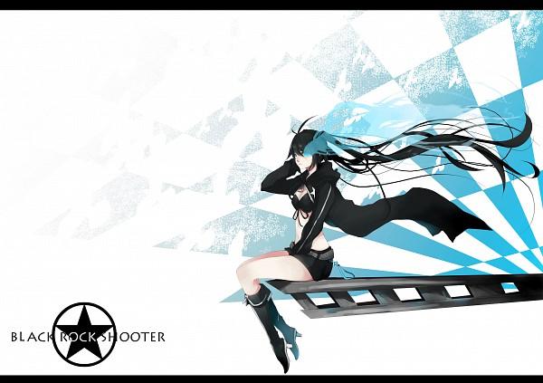 Tags: Anime, Anzu (astro75), Black★Rock Shooter, Black★Rock Shooter (Character), Fanart, Pixiv
