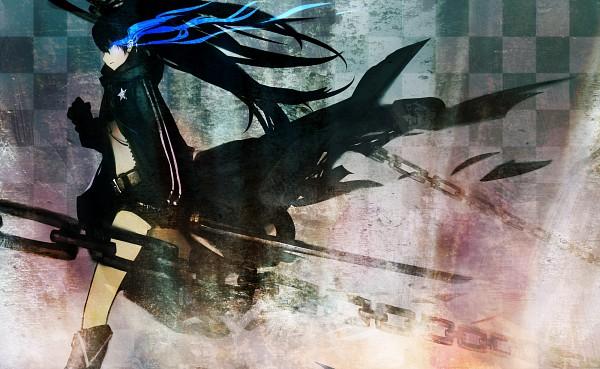 Tags: Anime, Trendgold, Black★Rock Shooter, Black★Rock Shooter (Character), Wallpaper, Pixiv