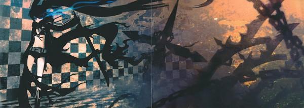 Tags: Anime, Huke, Black★Rock Shooter, Black★Rock Shooter: Visual Works, Black★Rock Shooter (Character), Comic Market 75, Official Art, Scan
