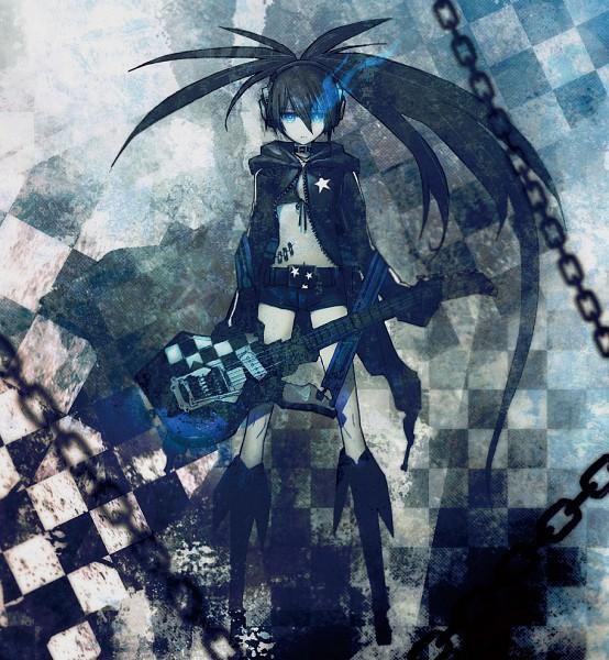 Tags: Anime, Huke, Black★Rock Shooter, Black★Rock Shooter (Character), Comic Market 79, CD (Source), Pixiv