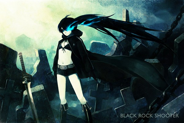 Tags: Anime, Hironox, Black★Rock Shooter, Black★Rock Shooter (Character), Scan