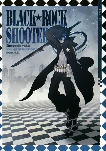 Tags: Anime, S.R, Black★Rock Shooter, Black Blade, Fanart, Mobile Wallpaper