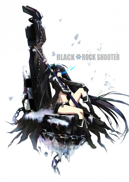 Tags: Anime, Steelleets, Black★Rock Shooter, Black★Rock Shooter (Character), Pixiv