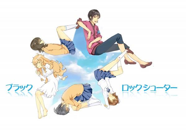 Tags: Anime, Black★Rock Shooter, Takanashi Yomi, Kuroi Mato, Izuriha Kagari, Irino Saya, Koutari Yuu