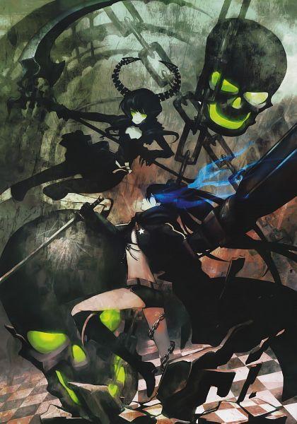 Tags: Anime, Black★Rock Shooter, PICSIX, Black★Rock Shooter: Visual Works, Black★Rock Shooter (Character), Dead Master, Black Blade, Comic Market 75, Scan, Mobile Wallpaper, Comic Market 76