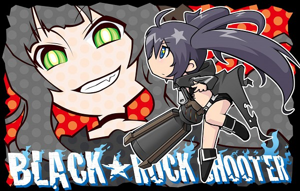 Tags: Anime, Black★Rock Shooter, Black★Rock Shooter (Character), Dead Master, Giant Gun, Huge Weapon