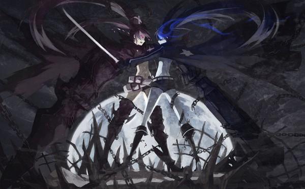 Tags: Anime, 9ji, Black★Rock Shooter, Insane Black★Rock Shooter, Black★Rock Shooter (Character)