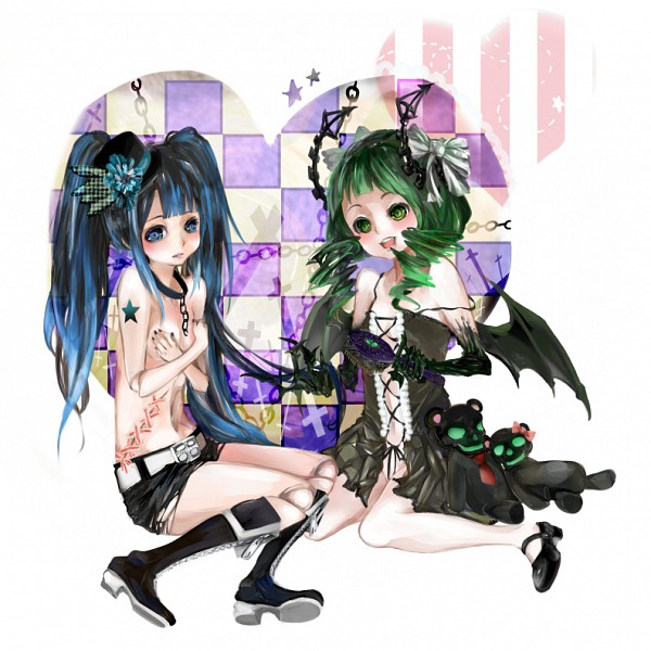 Tags: Anime, tri-bby, Black★Rock Shooter, Black★Rock Shooter (Character), Dead Master