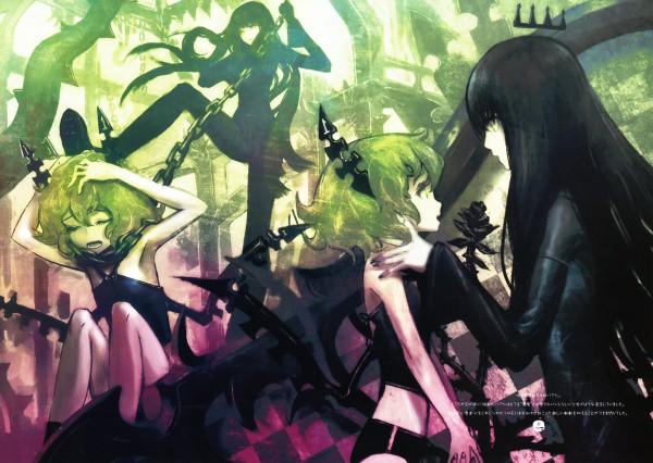 Tags: Anime, Huke, Black★Rock Shooter, Dragon Slayer, Pixiv