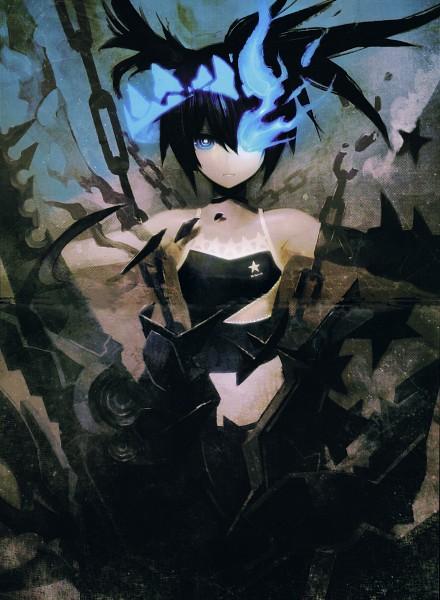 Tags: Anime, Huke, Black★Rock Shooter, BLK, Black★Rock Shooter Beast, Black★Rock Shooter (Character), Scan, Official Art