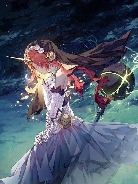 Tags: Anime, ₩ANKE, Fate/Grand Order, Black Berserker, Bridal Chest, Mace, Pixiv, Fanart, Fanart From Pixiv