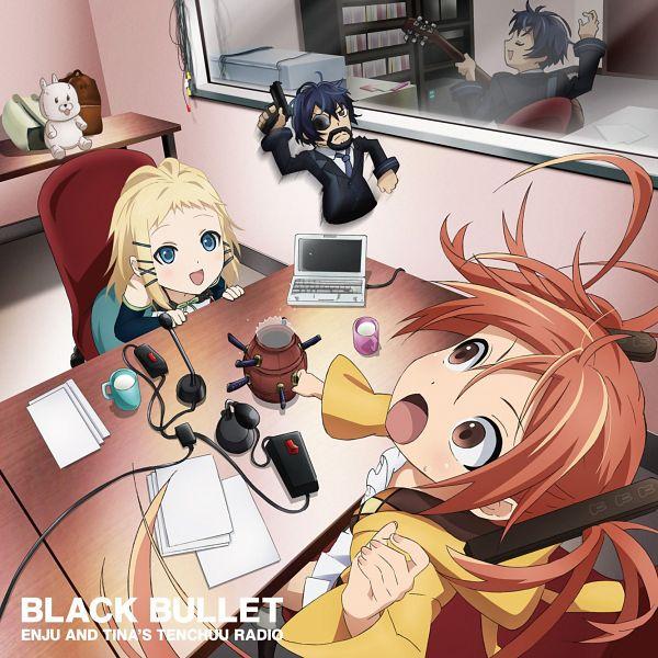 Tags: Anime, Kinema Citrus, Black Bullet, Aihara Enju, Tina Sprout, Satomi Rentarou, Official Art, CD (Source)