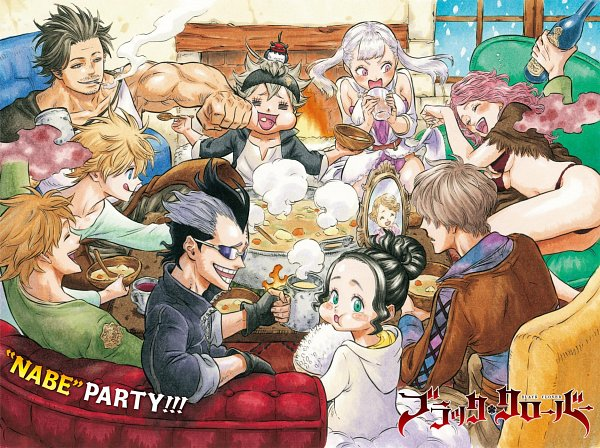 Tags: Anime, Tabata Yuuki, Black Clover, Charmy Papittson, Finral Roulacase, Vanessa Enoteca, Noelle Silva, Gauche Adlai, Yami Sukehiro, Luck Voltia, Asta (Black Clover), Magna Swing, Official Art