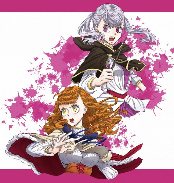 Tags: Anime, Black Clover, Noelle Silva, Mimosa Vermillion