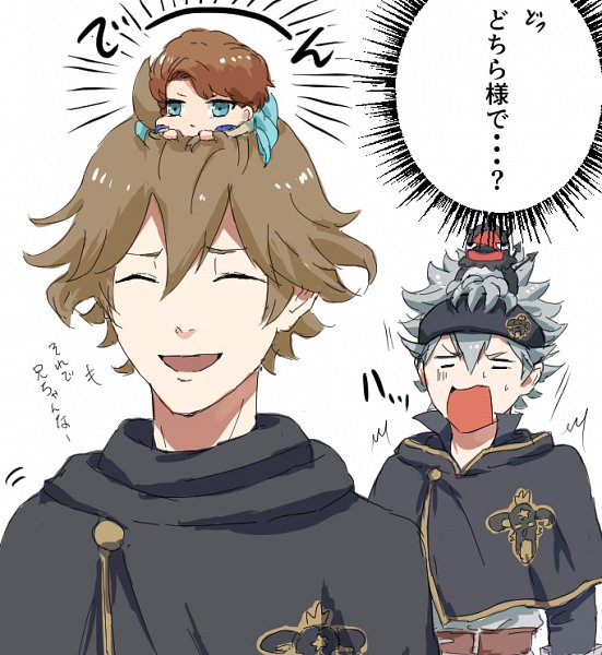 Tags: Anime, Black Clover, Asta (Black Clover), Nero (Black Clover), Finral Roulacase, Langris Vaude