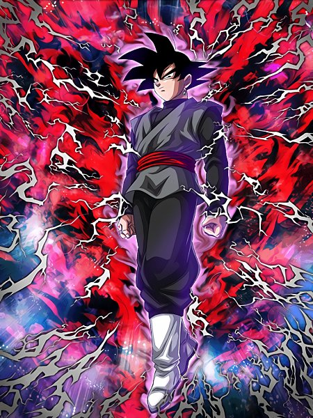 Tags: Anime, DRAGON BALL SUPER, Black Goku, Potara