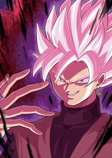 Tags: Anime, Pixiv Id 16020975, DRAGON BALL SUPER, Black Goku, Pixiv, Fanart, Fanart From Pixiv, Super Saiyan