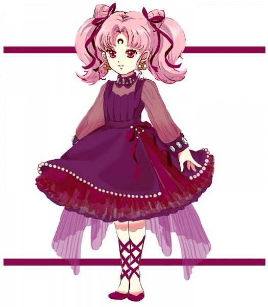 Tags: Anime, Pixiv Id 2575948, Bishoujo Senshi Sailor Moon, Black Lady, Chibiusa, Fanart, Pixiv, Fanart From Pixiv, Black Moon Clan