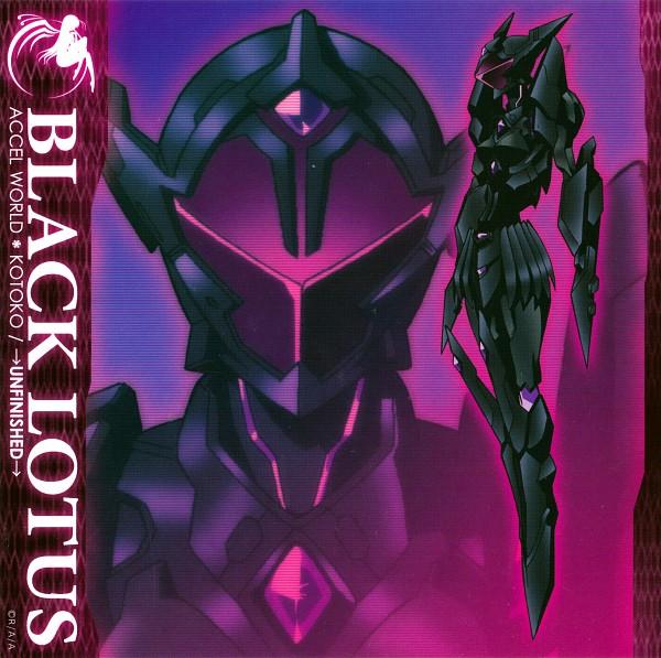 Tags: Anime, Sunrise (Studio), Accel World, Kuroyukihime, Black Lotus, CD (Source), Official Art, Scan