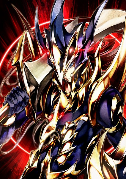 Tags: Anime, Pkk, Yu-Gi-Oh!, Black Luster Soldier, Fanart From Pixiv, Fanart, Pixiv