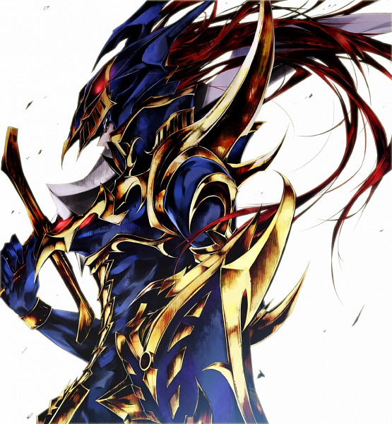 Tags: Anime, Pkk, Yu-Gi-Oh!, Black Luster Soldier, PNG Conversion, Fanart, Pixiv, Fanart From Pixiv