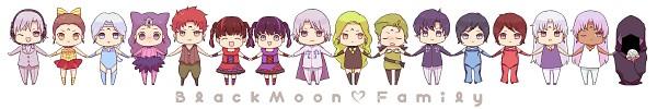 Tags: Anime, Saki Kunkatan, Bishoujo Senshi Sailor Moon, Ayakashi Petz, Death Phantom, Ayakashi Calaveras, Saphir (BSSM), Esmeraude, Ayakashi Beruche, Prince Diamond, Ayakashi Cooan, Rubeus, PNG Conversion