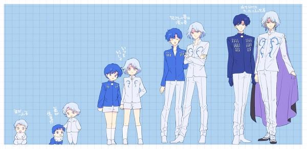 Tags: Anime, Saki Kunkatan, Bishoujo Senshi Sailor Moon, Prince Diamond, Saphir (BSSM), White Shorts, Pixiv, Fanart From Pixiv, Fanart, Facebook Cover, Black Moon Clan