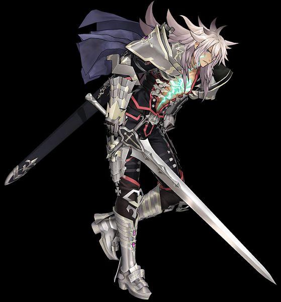 Tags: Anime, Sega, Fate/Grand Order Arcade, Fate/Grand Order, Black Saber, Official Art, 3D