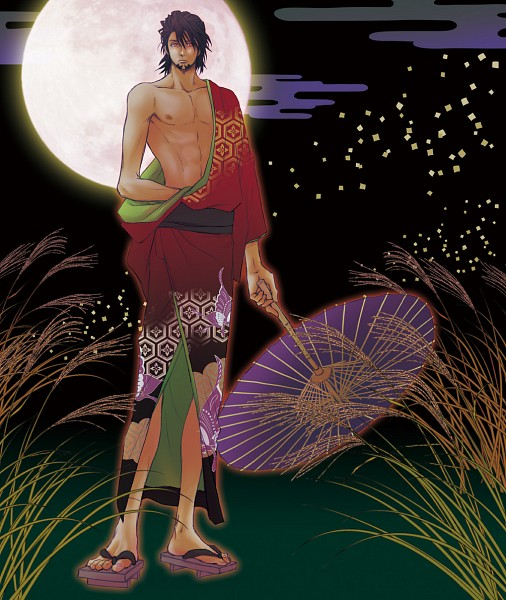 Tags: Anime, Pixiv Id 3038251, TIGER & BUNNY, Black Tiger, Kaburagi T. Kotetsu, Egasumi, Pampas, Honeycomb Pattern, Pixiv, Fanart