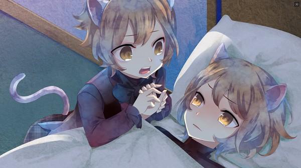 Tags: Anime, Kuroyuki, Black Wolves Saga, Auger Von Garibaldi, Mejojo Von Garibaldi, Facebook Cover