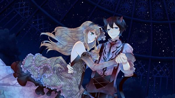 Tags: Anime, Kuroyuki, Black Wolves Saga, Julian von Garibaldi, Fiona Galland, CG Art