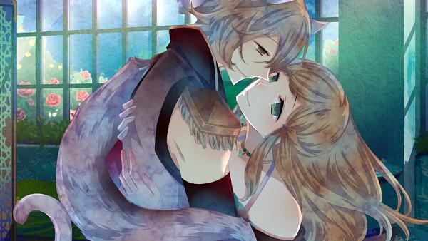 Tags: Anime, Kuroyuki, Black Wolves Saga, Fiona Galland, Auger Von Garibaldi, Wallpaper, CG Art