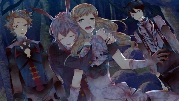 Tags: Anime, Kuroyuki, Black Wolves Saga, Zara Skeens, Fiona Galland, Elza Clifford, Julian von Garibaldi, CG Art, Wallpaper